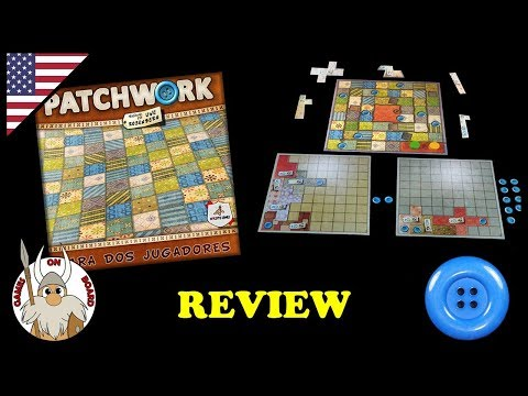 Patchwork, Review (ENGLISH) Board Game -Games On Board-