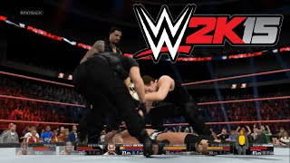 WWE 2K15 - The Shield vs. Evolution: Payback | PS4 Gameplay