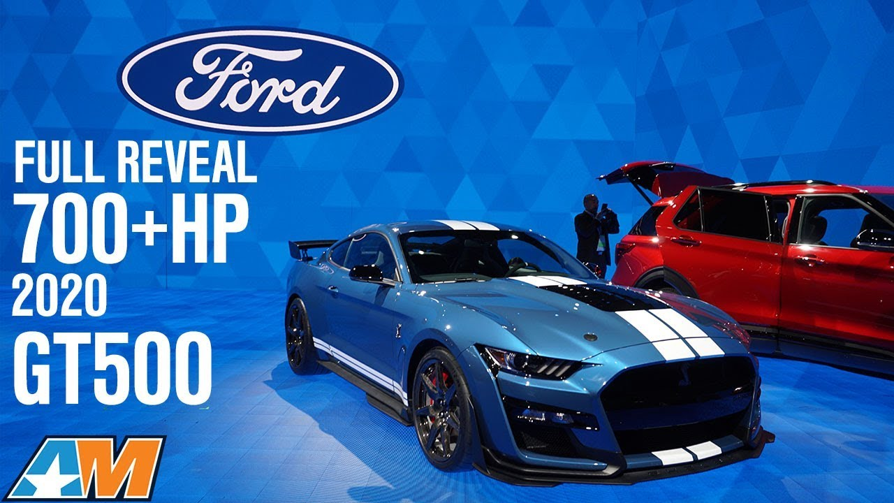 Full reveal 700 hp 2020 shelby gt500 interview with gt500 engineer mustang news