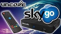 Uncorex 4K Android Digital Satelliten Receiver | Sky Go | App