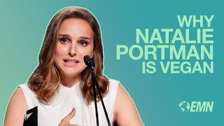 Natalie Portman Talks About Being Vegan at 2017 EMA Awards