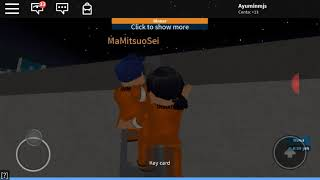 Prison life Roblox with my older brother!!!!