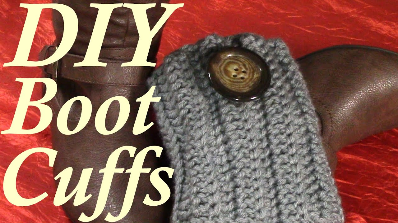 Diy 30 minutes quick boot cuffs tutorial crochet pattern youtube diy 30 minutes quick boot cuffs tutorial crochet pattern bankloansurffo Images