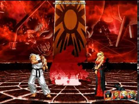 MUGEN Ryu vs Rose Bernstein