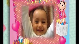 fotoklip.com bebekler çocuklar için doğum ilk yaş günü klibi slaytı gösterisi çizgi film