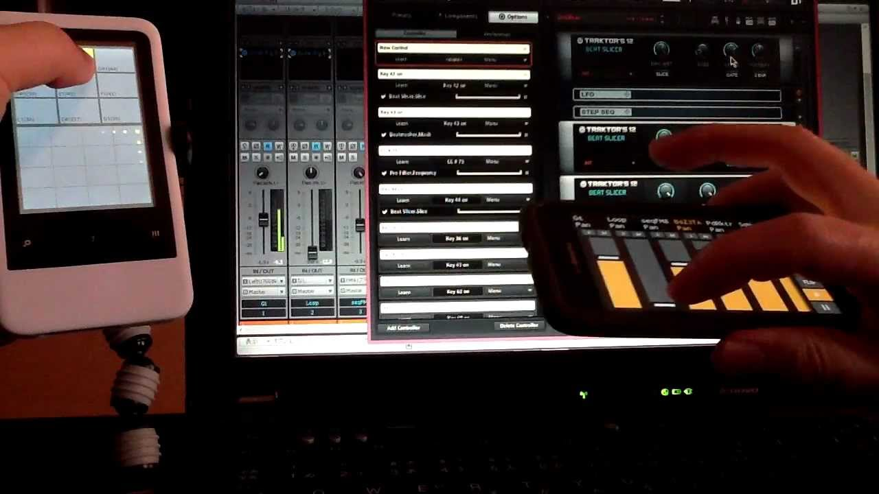 touchdaw and sonar android x 2 using android as midi controller youtube. Black Bedroom Furniture Sets. Home Design Ideas