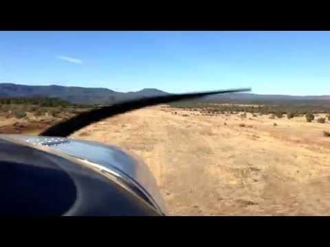Challenging Arizona Airstrips - Cibecue, AZ in Cessna 150