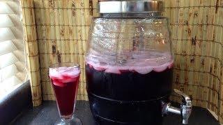 Agua Fresca De Jamaica Receta
