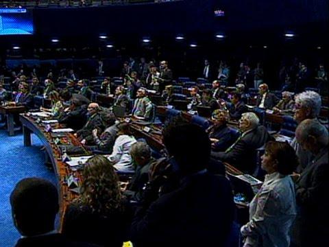 Senadores votam a admissibilidade do impeachment nesta quarta-feira