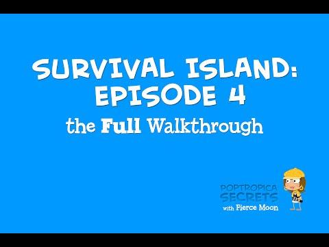 Poptropica Survival Island Episode 4 - Full Walkthrough