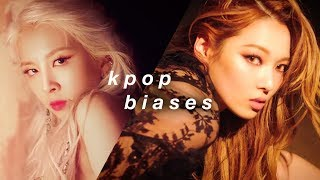 kpop biases: me vs my subscribers