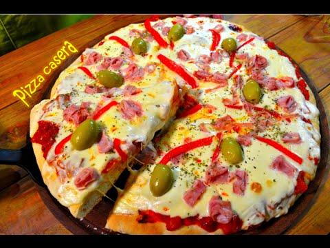 Como hacer masa para pizza esponjosa casera