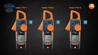 TESTO 770(Три прибора линейки токовых клещей Testo 770 отлично подходят для измерения силы тока в распределительных..., 2016-07-27T09:13:13.000Z)