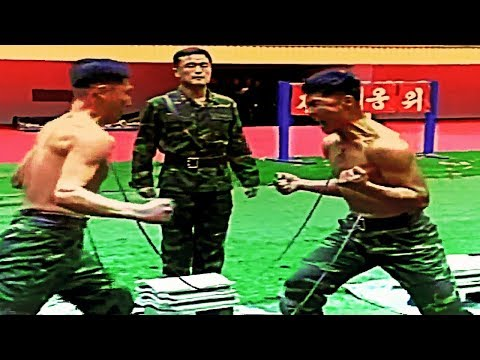 NORTH KOREAN SPECIAL FORCES - THESE ARE NOT PEOPLE, THEY'RE ROBOTS