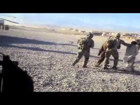 SASR Operators Bring In Captured Taliban (2/2)
