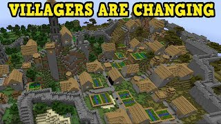 Minecraft - VILLAGES ARE GOING TO ENTIRELY CHANGE