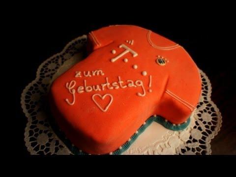 Fc Bayern Munchen Trikot Torte Von Kuchenfee Youtube