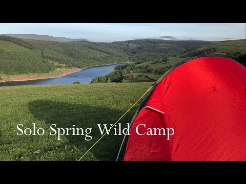 Solo WiId Camp In The Peak District | Ladybower Reservoir #4