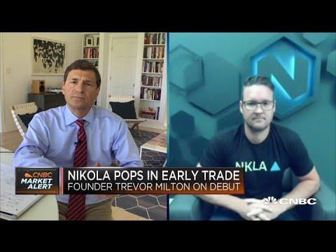 Nikola Stock Has Slipped. Founder Trevor Milton Bought Up Shares.