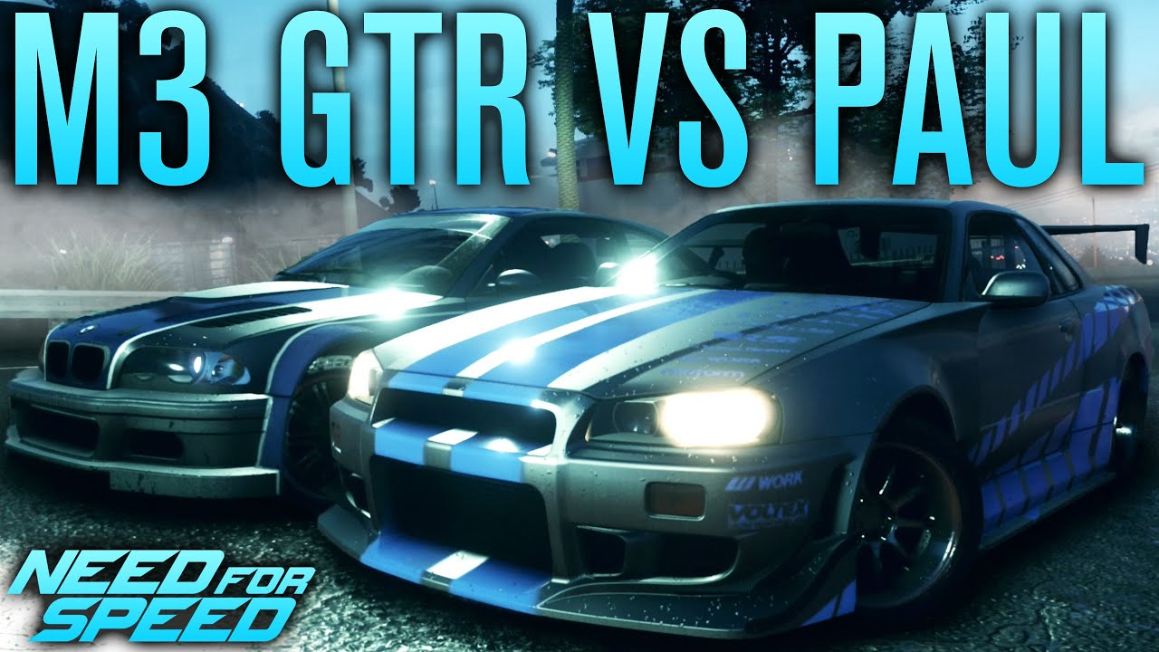 NFS BMW M3 GTR VS PAUL'S SKYLINE | Need for Speed 2015 ...