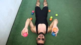 #39. Над головой 3М (видео уроки по жонглированию от ПГ)