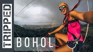BOHOL, PHILIPPINES - Chocolate Hills & Bicycle Zip Line!