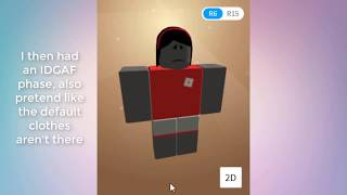 [2014-2018] Roblox Avatar Evolution (JUNE ABANDONED VIDEO)