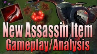 New AD Assassin Item Gameplay - Duskblade of Draktharr - League of Legends