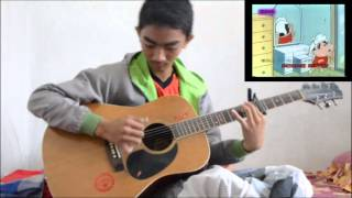 Crayon Sinchan Theme Song ~ FataELIslami (Original Fingerstyle) COVER