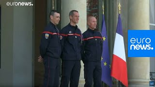French President Macron assures Notre Dame can be repaired | GME