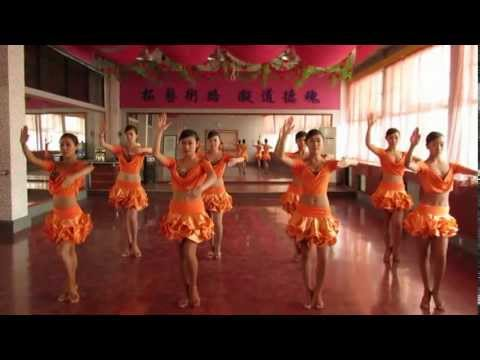 Synchronized Dance Show Small team Latin American style