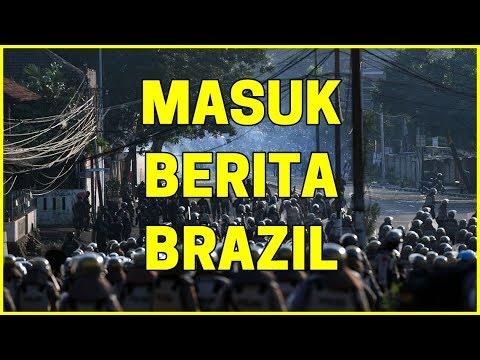 Demonstrasi JAKARTA masuk berita BRAZIL