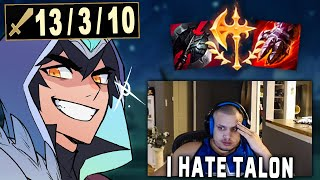 Demoting Tyler1 out of Masters with Conqueror Talon
