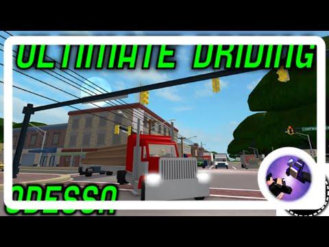 Roblox Ultimate Driving: Odessa!