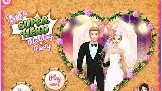 NEW Игры для детей 2015—Disney Принцесса Супер Барби Невеста—Мультик Онлайн Видео Игры для девочек