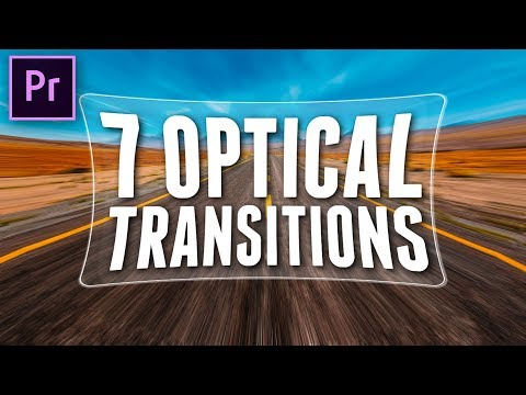 7 Optical Transitions for Premiere Pro | Cinecom net