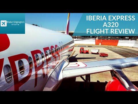 Flight Review | IBERIA EXPRESS | Airbus A320 | Madrid to Malaga