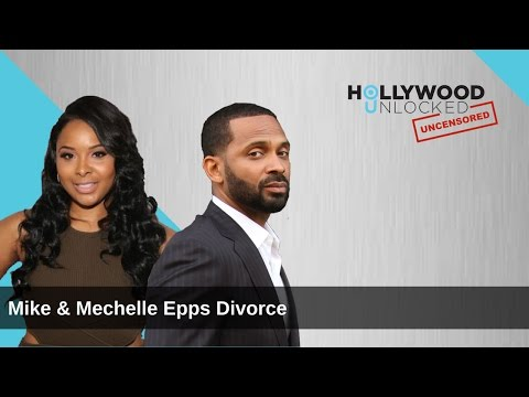 Talking Mike Epps Cutting Wife Mechelle Off During Divorce on Hollywood Unlocked [UNCENSORED]