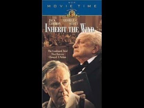 Inherit The Wind 1999. O Vento Será Tua Herança 1999 Jack Lemmon. George C. Scott