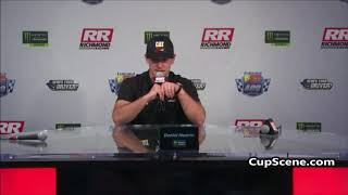 NASCAR at Richmond Raceway Sept. 2019: Daniel Hemric pre-race