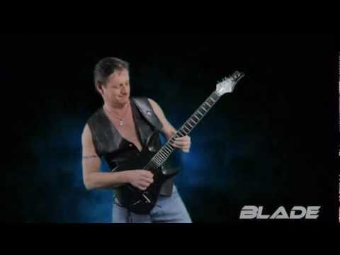 "Tony Hallinan And Blade Guitars Present  "" THE TITAN """