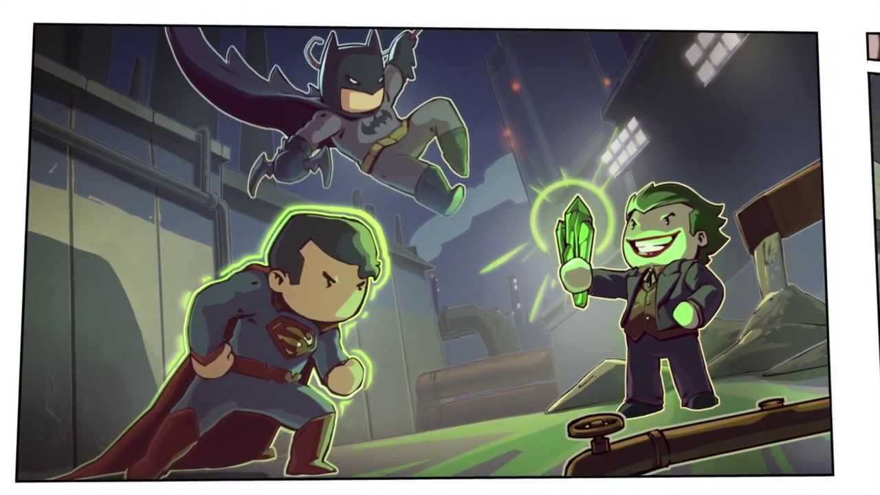 Scribblenauts Unmasked: A DC Comics Adventure Review | USgamer