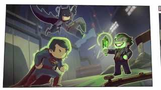 Scribblenauts Unmasked: A DC Comics Adventure Official Launch Trailer