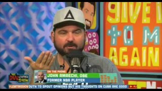 Dan Lebatard On Cuba Protestor and Bob Ley