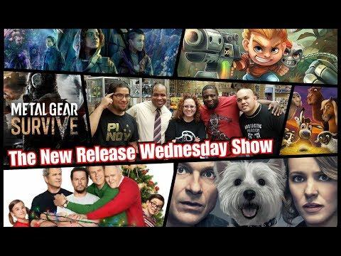 Annihilation! Metal Gear Survive! Game Night! Daddy's Home 2! New this week! #NRW!