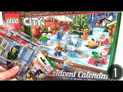 Lego City Advent Calendar Day 1 Ninjago Minifigs Let