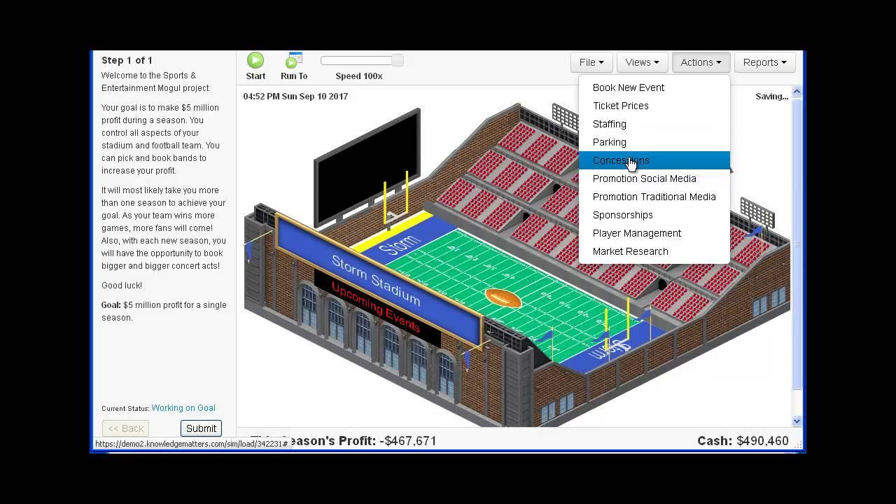 Virtual Business - Sports & Entertaint 2.0 - YouTube