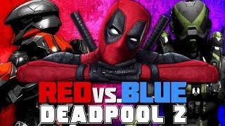 Red vs. Blue (Deadpool 2 Style)