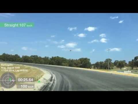 Barbagallo Track Day in Jaguar XKR