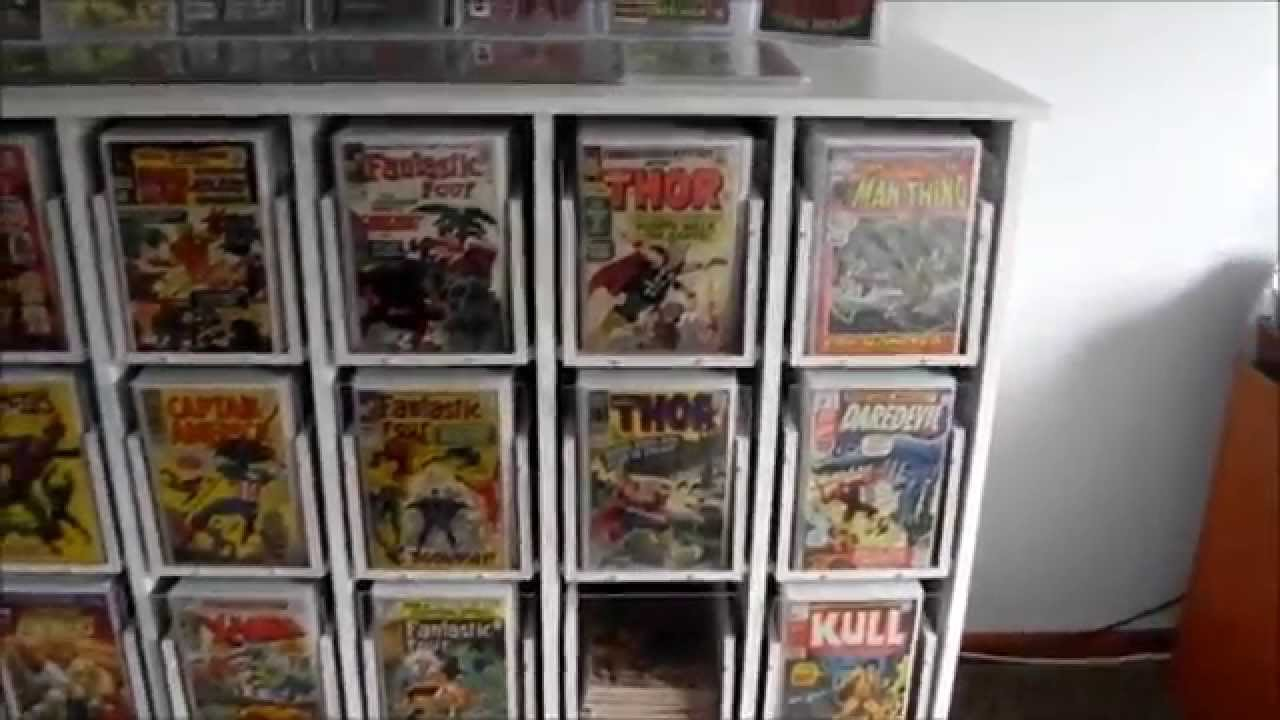 Comic Book Storage Cabinets Comic Book Cabinet Youtube